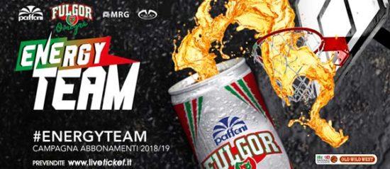 Paffoni Fulgor Omegna - Campionato serie B Stagione 2018/19