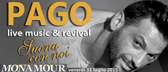 """Pago live Music & Revival """"Suona con noi"""" a Rimini"""