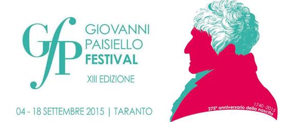 XIII edizione Giovanni Paisiello Festival a Taranto