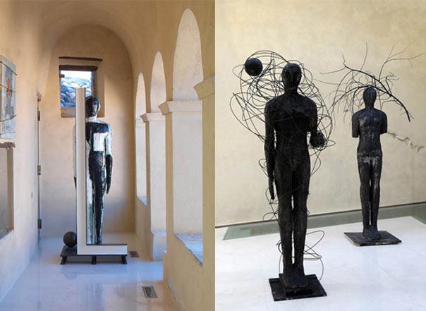 "Mimmo Paladino ""VARIeAZIONI"" a Castelbasso"