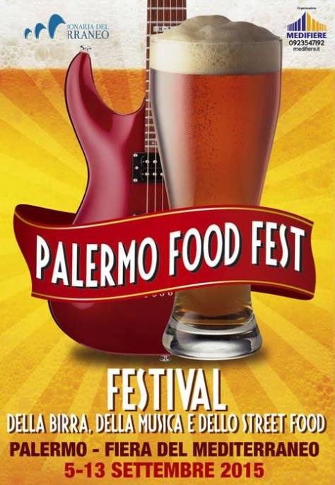Palermo Food Festival alla Fiera del Mediterraneo a Palermo