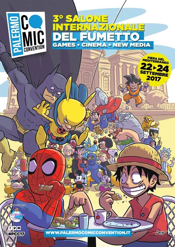 Palermo Comic Convention 2017 alla Fiera del Mediterraneo a Palermo