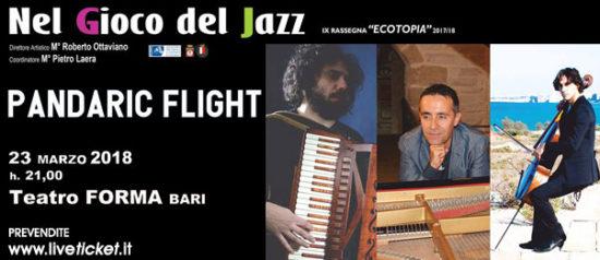 Pandaric Flight al Teatro Forma di Bari