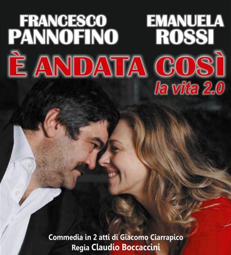 Francesco Pannofino e Emanuela Rossi