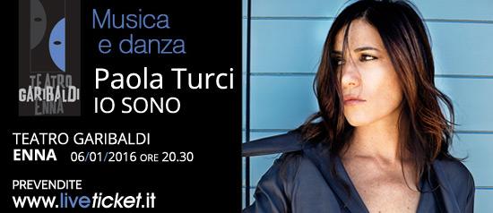 Paola Turci al Teatro Garibaldi di Enna