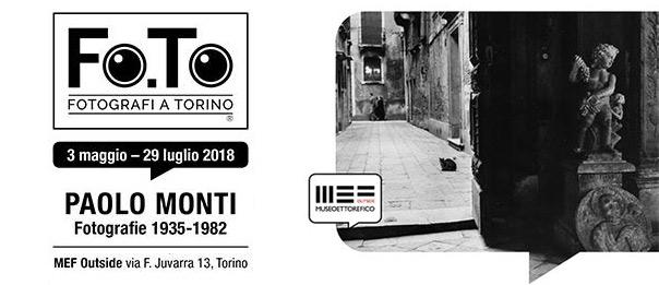 Paolo Monti al MEF Outside a Torino