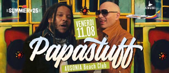Papastuff all'Ausonia Beach Club di Trieste