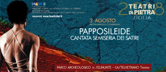 Papposileide al Parco Archeologico di Selinunte a Castelvetrano