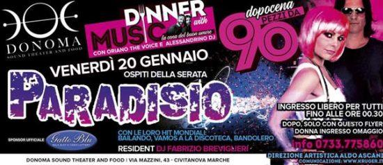 Pezzi da 90 - Paradisio al Donoma di Civitanova Marche