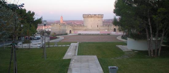 Parco Castello Tramontano a Matera