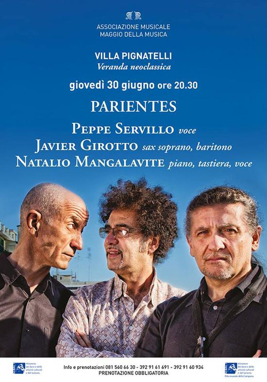 """Parientes"" a Villa Pignatelli a Napoli"