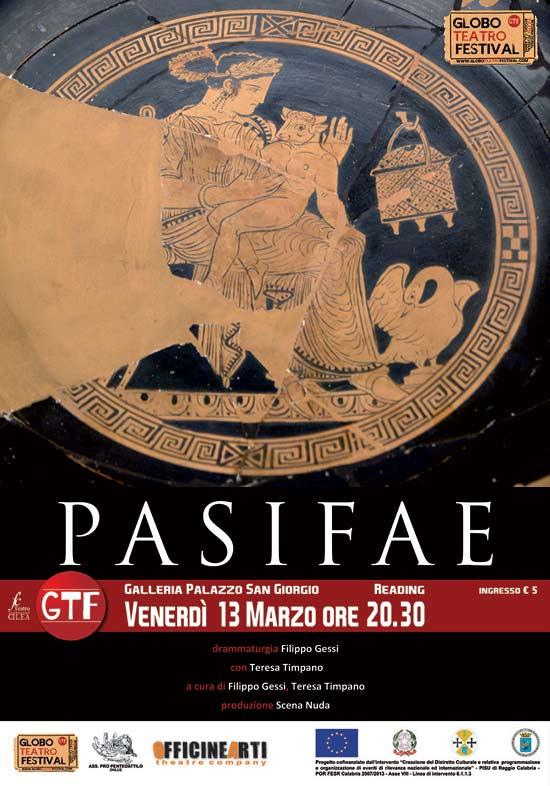 """""""Pasifae"""" al Globo Teatro Festival a Reggio Calabria"""