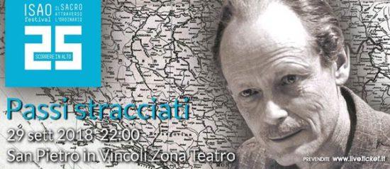 """Isao Festival """"Passi stracciati"""" al Teatro in San Pietro in Vincoli a Torino"""