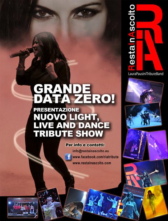 Restainascolto Light Show al Teatro Pime di Milano
