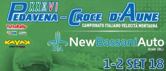 "Corsa automobilistica ""Pedavena - Croce D'Aune"" 2018 a Pedavena"