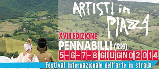 """""""Artisti in Piazza"""" 18° Festival Internazionale dell'Arte in Strada a Pennabilli"""