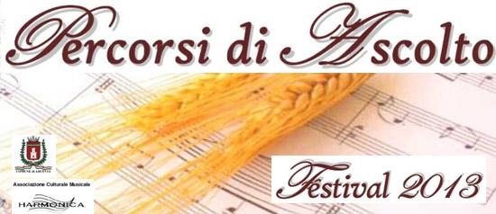 Percorsi di Ascolto Festival 2013 a Arcevia