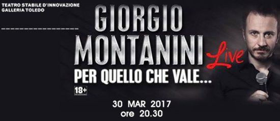 """Giorgio Montanini """"Per quello che vale..."""" alla Galleria Toledo di Napoli"""