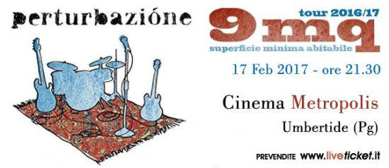 Perturbazione + Amen in concerto al Cinema Metropolis di Umbertide
