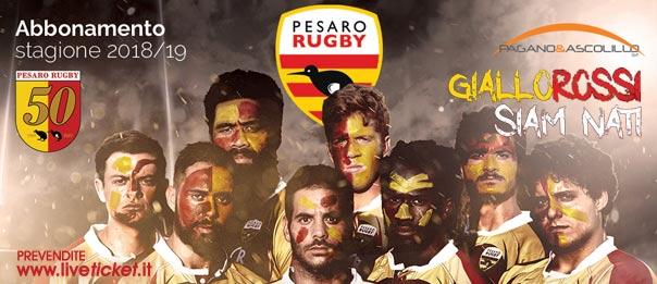 Pesaro Rugby - Campionato serie B Stagione 2018/19