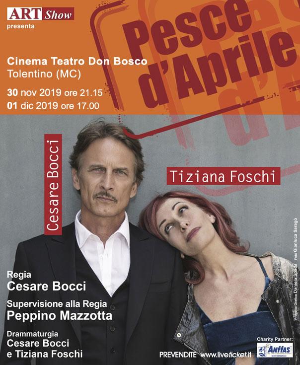 """Cesare Bocci e Tiziana Foschi """"Pesce d'Aprile"""""""