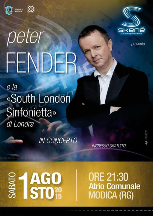 Peter Fender a Modica