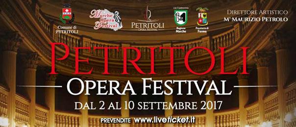 """Per Marche Opera Festival """"Petritoli Opera Festival"""" a Petritoli"""