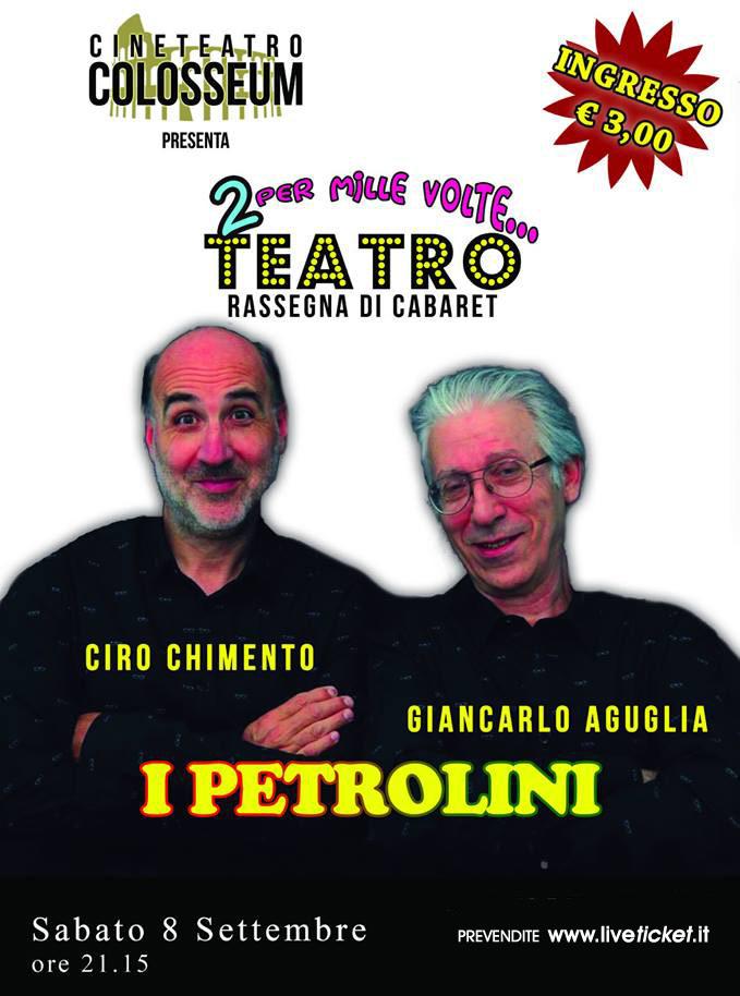 Prima o poi ritornano al Cineteatro Colosseum a Palermo