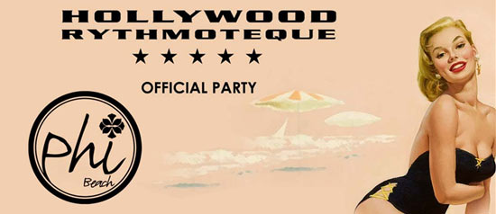 Phi Beach Official Party Hollywood Milano