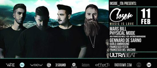 Closer presenta Physical Mode + Mars Bill all'Ultra Beat a Monteforte Irpino