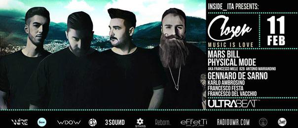 Closer presenta Physical Mode + Mars Bill all'Ultra Beat a Monteforte Irpino