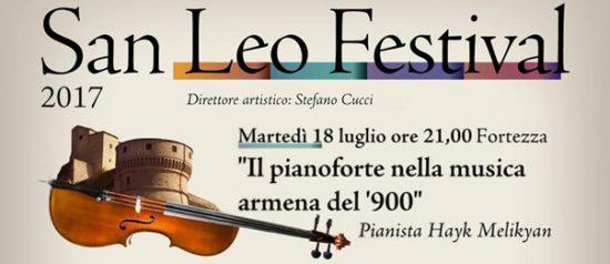 Il Pianoforte nella Musica Armena del '900 alla Fortezza di San Leo
