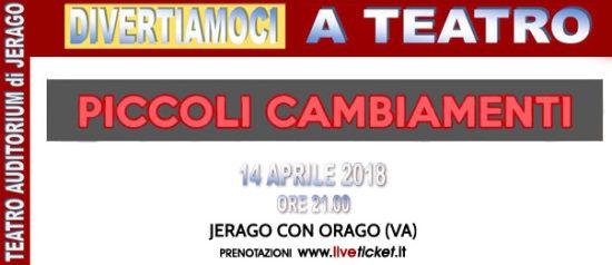 Piccoli cambiamenti all'Auditorium Jerago a Jerago con Orago