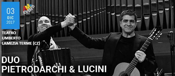 Duo Pietrodarchi & Lucini al Teatro Umberto di Lamezia Terme