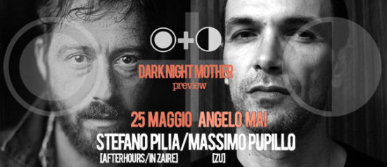 Darknight mother feat. Stefano Pilia e Massimo Pupillo all'Angelo Mai di Roma