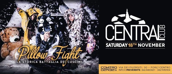 Pillow fight al Central Club a Forlì