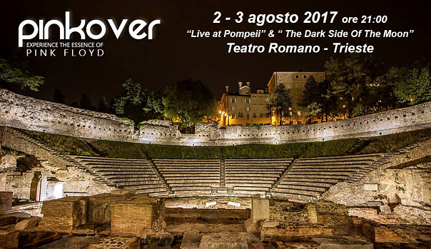 """""""Pinkover Live"""" al Teatro Romano di Trieste"""