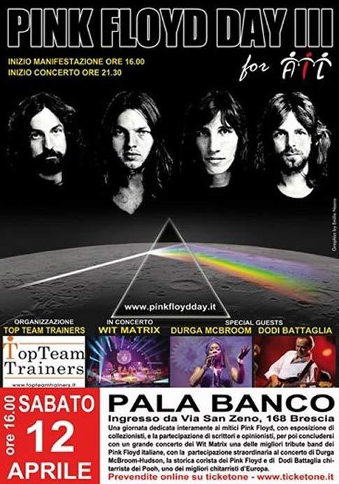 Pink Floyd Day al Pala Banco di Brescia