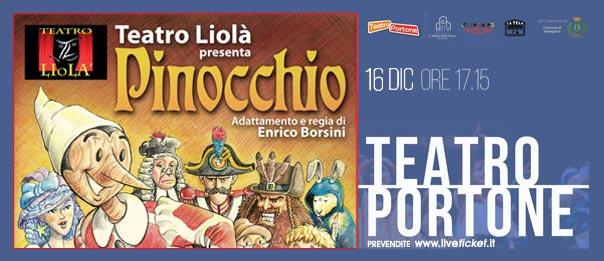 Pinocchio al Teatro Portone di Senigallia