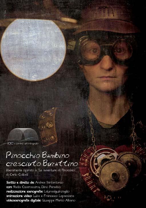 Pinocchio Bambino Cresciuto Burattino