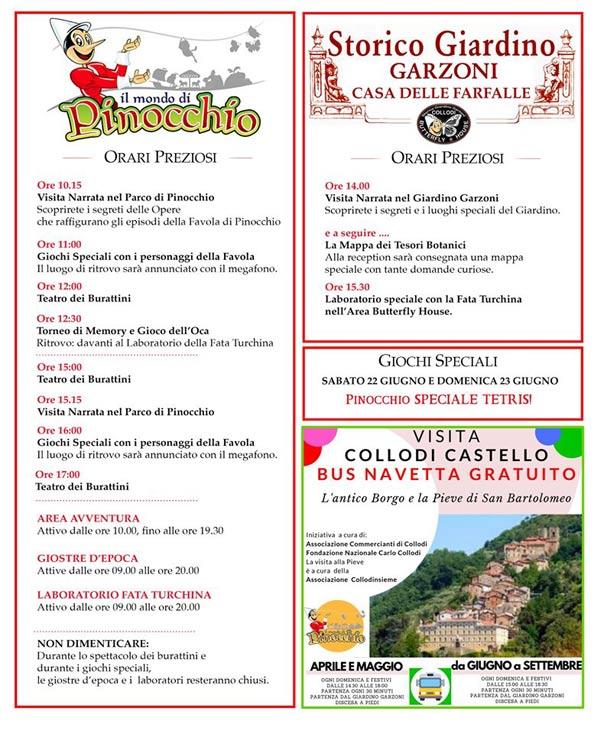 Parco di Pinocchio - Fondazione Collodi e Giardino Garzoni a Collodi