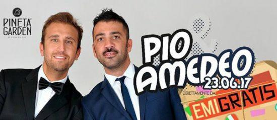 Pio & Amedeo from Emigratis al Pineta Garden di Sassocorvaro