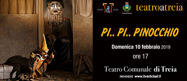 Pi... Pi... Pinocchio al Teatro Comunale di Treia