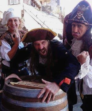 """Crociera spettacolo """"I pirati e il tesoro della sirena"""" sul Lago di Bracciano"""