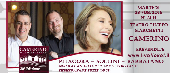 Pitagora - Sollini - Barbatano al Camerino Music Festival
