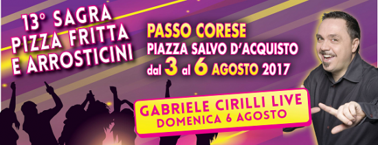 Sagra Pizza Fritta E Arrosticini a Passo Corese