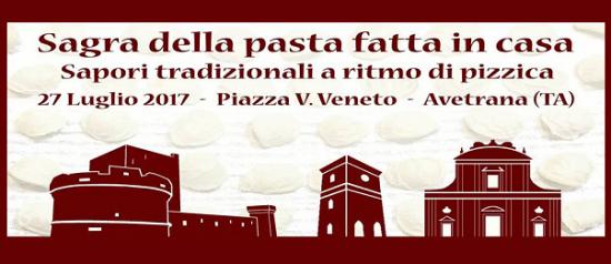 """Sagra della Pasta fatta in casa """"Sapori tradizionali a ritmo di Pizzica"""" ad Avetrana"""