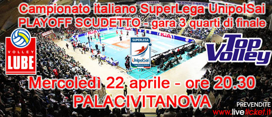 Lube Volley playoff