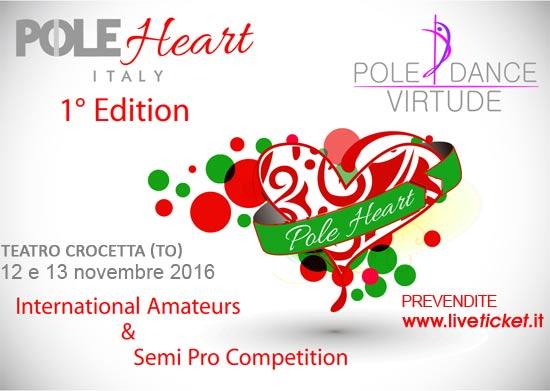 Pole Heart Italy a Torino