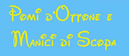 """""""Pomi d'Ottone e Manici di Scopa"""" al Teatro Comunale di Formello"""